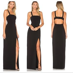 NWT! Lovers + Friends REVOLVE Soul Maxi in Black